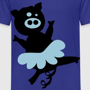 Funy ballet pig Toddler T-Shirt - Toddler Premium T-Shirt