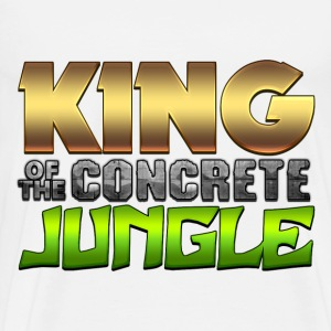 King Of The Concrete Jungle T-Shirts - Men's Premium T-Shirt