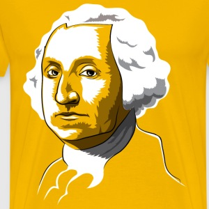 George Washington Gold - Men's Premium T-Shirt