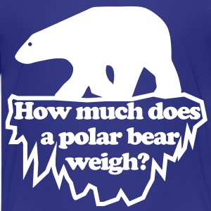 Polar bear t shirts spreadshirt for How much is a shirt