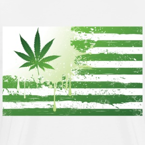 Weed Flag T-Shirts - Men's Premium T-Shirt