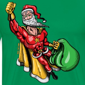 Super Santa Claus T-Shirts - Men's Premium T-Shirt