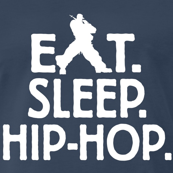 Eat-Sleep-tee - Men's Premium T-Shirt
