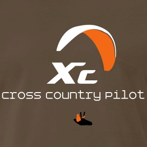 Paraglider Cross Country T-Shirts - Men's Premium T-Shirt