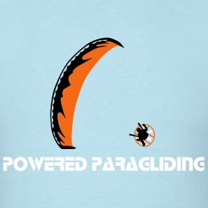 Powered Paragliding T-Shirts - Men's T-Shirt