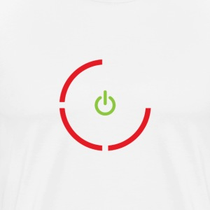 Red Ring Of Death Tee - Men's Premium T-Shirt