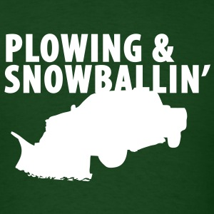 Plowing T-Shirts - Men's T-Shirt