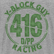 Design ~ Two Sided, 416 D/PP Racing on back