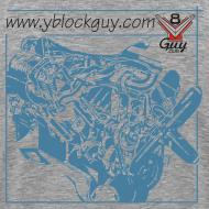 Design ~ Y-Block Guy cutaway