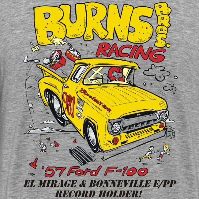 """Flying Yellow Brick"" 981 E/PP Burns Bros. Racing"