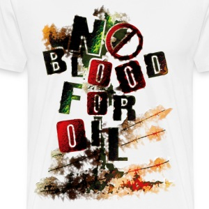 NO BLOOD FOR OIL - Men's Premium T-Shirt