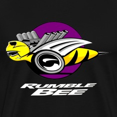 Rumble Bee Truck Logo T-Shirts