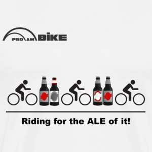 Cycling T Shirt - Riding for the ALE of it - Men's Premium T-Shirt