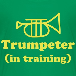 Trumpeter in Training - Kids' Premium T-Shirt