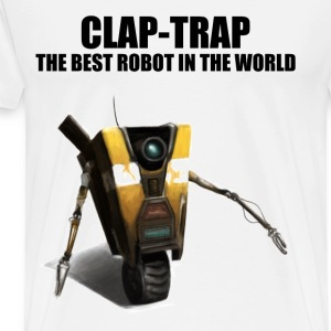 Clap Trap - The Best Robot In The World - Men's Premium T-Shirt
