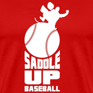 Saddle Up Baseball - Men's Premium T-Shirt