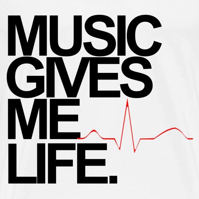 Music Gives Me Life T-Shirt