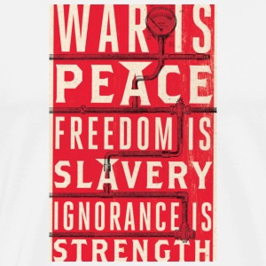 war_is_peace T-Shirts - Men's Premium T-Shirt