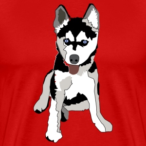 Huskey - Men's Premium T-Shirt
