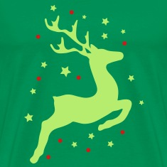 A leaping reindeer T-Shirts