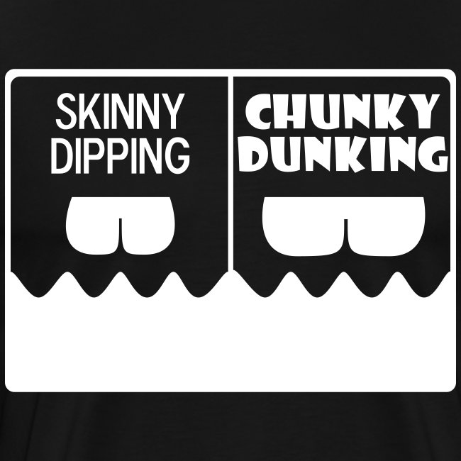 Plus Size Skinny Dipping vs Chunky Dunking