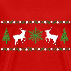Ugly Christmas Sweater T-Shirt - Men's Premium T-Shirt