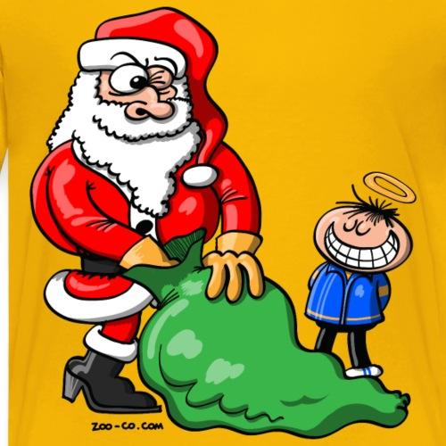 Santa Claus and Good Boy