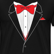 Design ~ Funny Tuxedo T Shirt