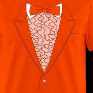 Design ~ Tuxedo T Shirt Deluxe Orange