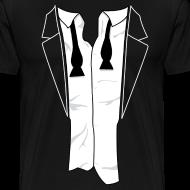 Design ~ Unbuttoned Tuxedo T Shirt