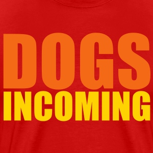 dogs incoming T-Shirts - Men's Premium T-Shirt
