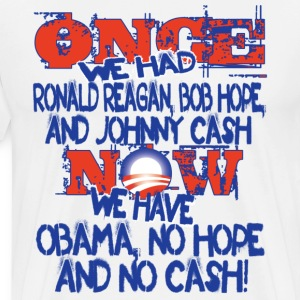 Once we had Reagan... T-Shirts - Men's Premium T-Shirt