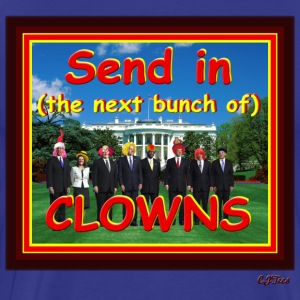 Send In (The Rest Of The) CLOWNS - Men's Premium T-Shirt