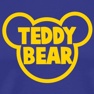 TEDDY BEAR in teddy shape T-Shirts - Men's Premium T-Shirt