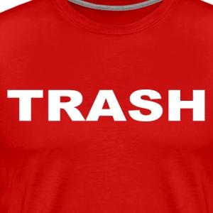Trash t shirts spreadshirt for Tattooed white trash t shirt