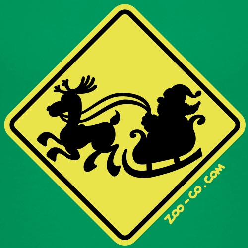 Warning Santa Claus Ahead