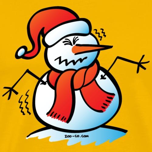 Shivering Snowman