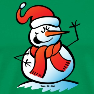 Singing Snowman T-Shirts - Men's Premium T-Shirt