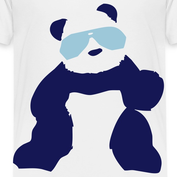 pandas wearing sunglasses - Toddler Premium T-Shirt