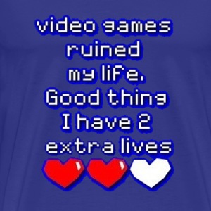 video games - Men's Premium T-Shirt