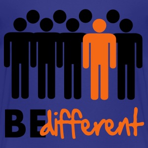 Be different Vector Design Kids' Shirts - Kids' Premium T-Shirt