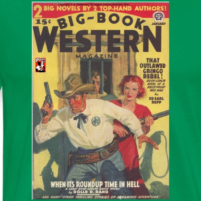 Big Book Western Jan 1940 3/4XL