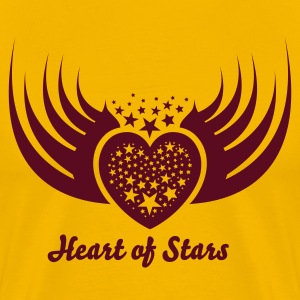 Heart of Stars 3 T-Shirts - Men's Premium T-Shirt