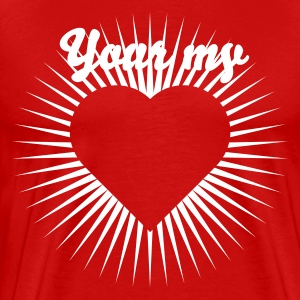 Heart 7_1c T-Shirts - Men's Premium T-Shirt