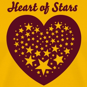 Heart of Stars 4 T-Shirts - Men's Premium T-Shirt