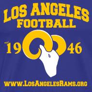 Design ~ Los Angeles Football T-Shirt (Royal Blue)
