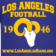 Design ~ Los Angeles Football Children's T-Shirt (Royal Blue)