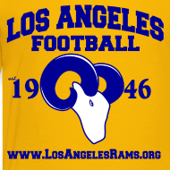 Design ~ Los Angeles Football Children's T-Shirt (Yellow)