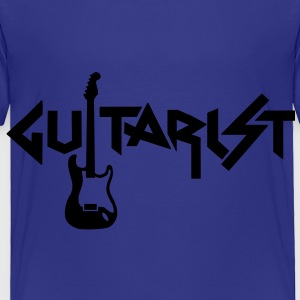 guitarist Toddler Shirts - Toddler Premium T-Shirt