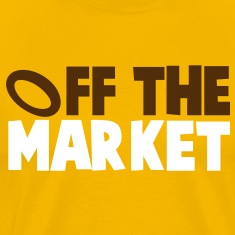 OFF THE MARKET wedding present for the BRIDE or GROOM T-Shirts